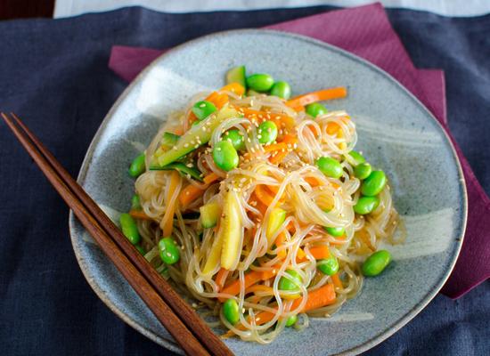Konjac Noodle dish 1