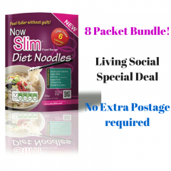 8 Packets of Diet Noodles – Now Slim Diet Noodles. 8 Pack Deal –  SAVE!